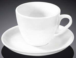 Чашка кофейная и блюдце Wilmax 75 мл WL-993173 купить недорого онлайн