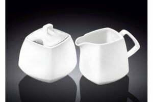 Набор сахарница и молочник Wilmax Color WL-995028/2C