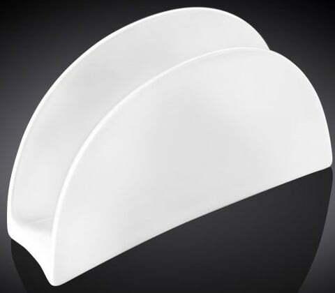 Салфетница фарфоровая Wilmax 11,5х7 cм WL-996146 купить недорого онлайн