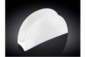 Салфетница фарфоровая Wilmax 11,5х7 cм WL-996146