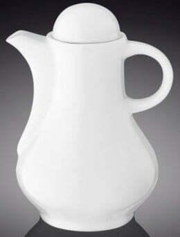Бутылка 160 мл для соуса фарфор Wilmax WL-996155 / A купить недорого онлайн