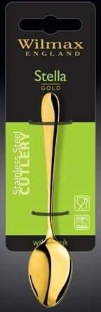 Набор ложек Wilmax кофейных Stella Gold 11,5 см WL-999153 / 2B фото и отзывы