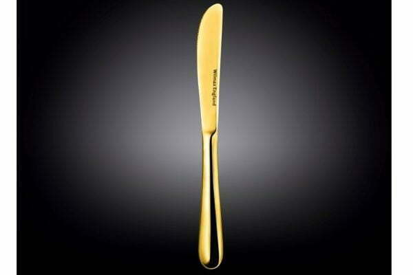 Нож десертный Wilmax Stella Gold 20,5 см WL-999154 / 1B