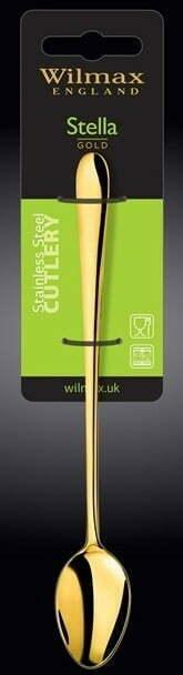 Ложка для коктейля Wilmax Stella Gold 19,5 см WL-999157 / 1B купить в Одессе