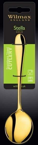 Набор ложек для бульона Wilmax Stella Gold 18 см WL-999167 / 2B купить в Одессе