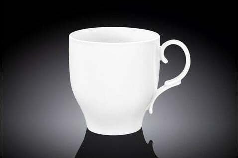 Чашка Wilmax чайная фарфоровая 400 мл