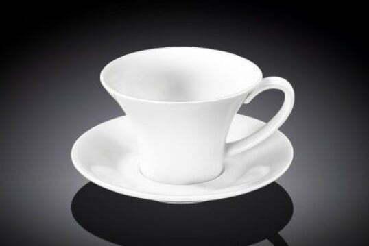 Чашка кофейная с блюдцем Wilmax 100 мл