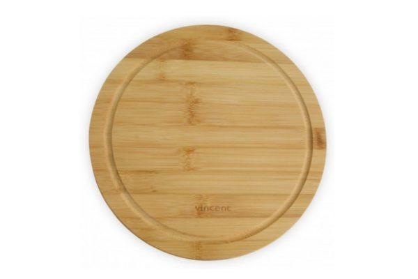 Доска Vincent кухонная бамбук 24х24х1,2 см низкая цена