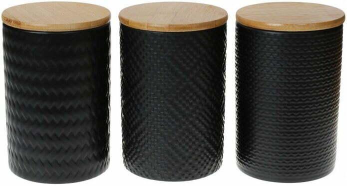 Набор керамических банок с крышками ВonaDi 800 мл 304-931 купить недорого онлайн
