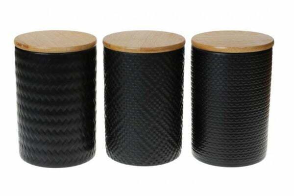 Набор керамических банок с крышками ВonaDi 800 мл 304-931