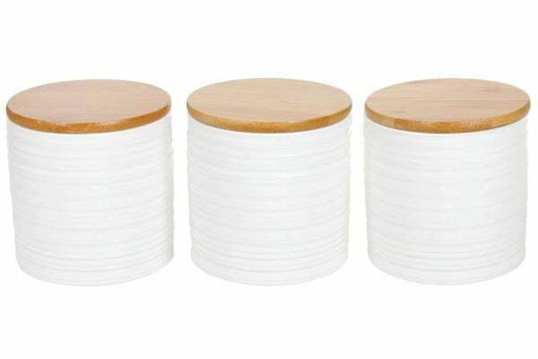 Набор керамических банок 550 мл с крышками 304-904