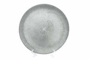 Сервировочная тарелка стеклянная 33см BonaDi 587-007