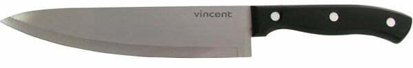 Нержавеющий нож поварской Vincent 19,8 см VC-6175 купить недорого онлайн