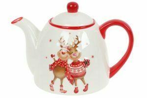 Чайники заварочные новогодние