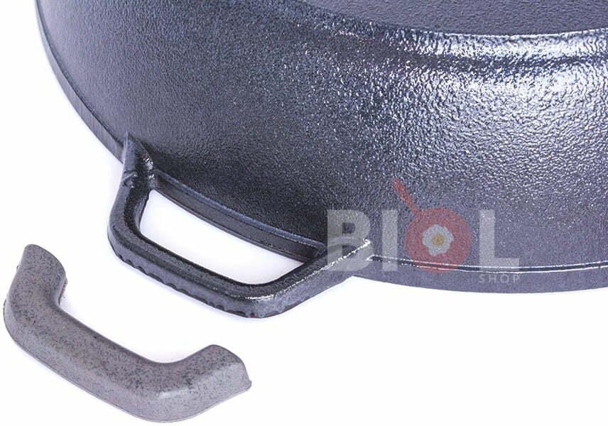 Сковорода чугунная Биол 26 см с матовым покрытием снаружи глянцевое 03265Е низкая цена