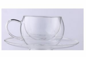 Чашка с двойным дном с блюдцем 270 мл Lessner Thermo