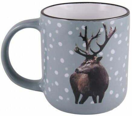 Чашка 320 мл керамика Milika New Year's Deer M0420-K2 купить недорого онлайн