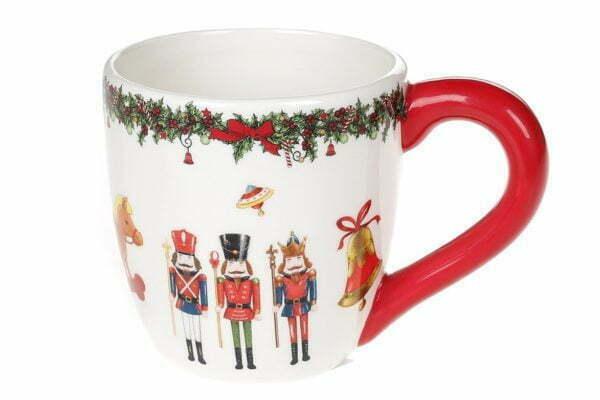 Кружка керамическая Щелкунчик 350 мл BonaDi Merry Christmas 923-228