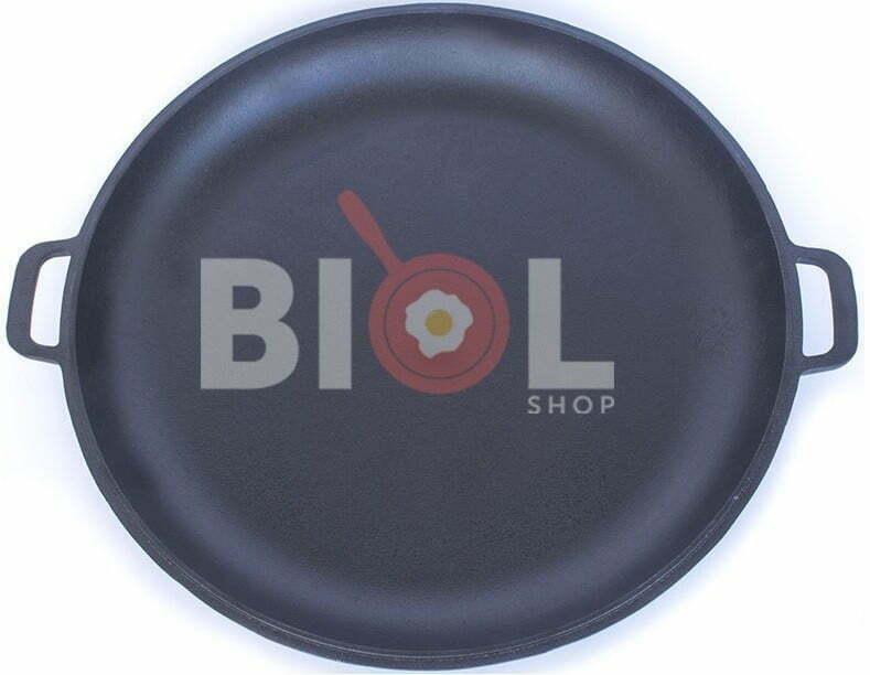 Крышка-сковорода Биол 50 см чугунная 0050 низкая цена