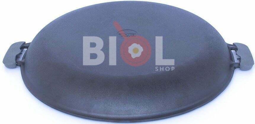 Крышка-сковорода Биол 50 см чугунная 0050 купить в онлайн магазине