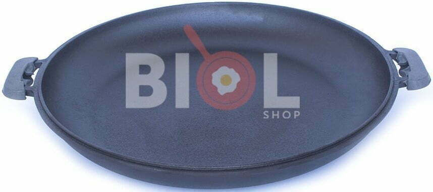 Крышка-сковорода Биол 50 см чугунная 0050 купить недорого онлайн