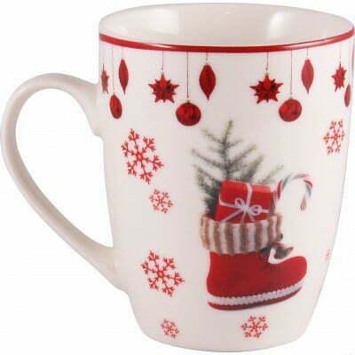 Чашка Milika фарфоровая Christmas Gifts 360 мл M0520-NY15 купить недорого онлайн