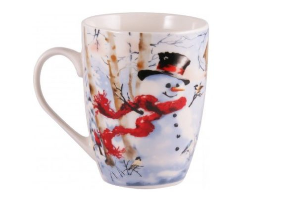 Чашка из фарфора Happy Snowman 360 мл Milika M0520-NY14