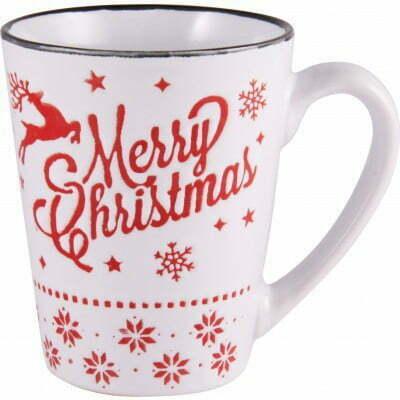 Чашка Milika керамическая Merry Christmas 320 мл M0420-K3 купить недорого онлайн