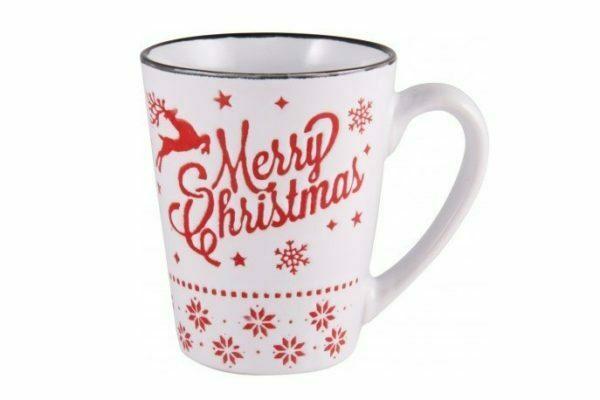 Чашка Milika керамическая Merry Christmas 320 мл M0420-K3
