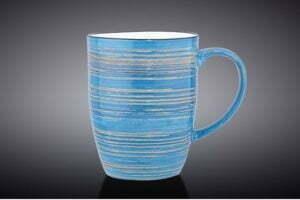 Кружка Wilmax Spiral Blue 460 мл купить недорого на сайте