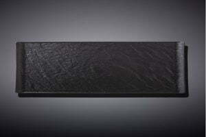 Блюдо прямоугольное Wilmax Slatestone Black 30х9,5 см