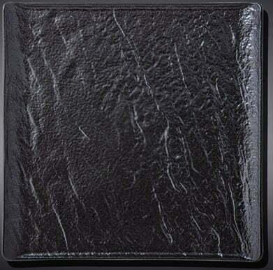 Тарелка квадратная Slatestone Black 17х17 см WL-661105 / A купить недорого онлайн