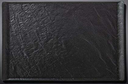 Тарелка Wilmax Slatestone Black 19,5х14,5 см WL-661108 / A купить недорого онлайн