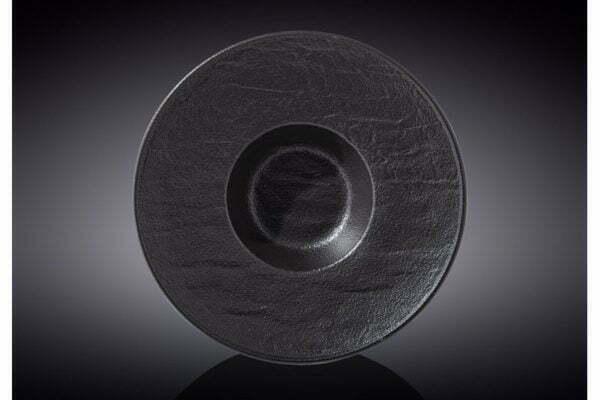 Тарелка Wilmax Slatestone Black 24 см WL-661115 / A купить дешево