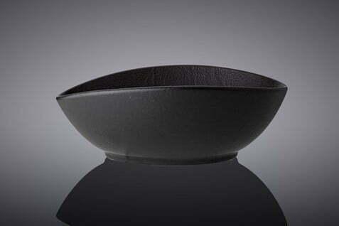 Блюдо глубокое Wilmax Slatestone Black 13х10х6 см низкая цена