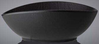 Блюдо глубокое Wilmax Slatestone Black 13х10х6 см WL-661118 / A отзывы