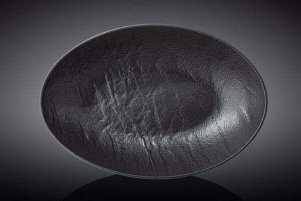 Блюдо Wilmax Slatestone Black 30х19,5х7 см WL-661121 / A