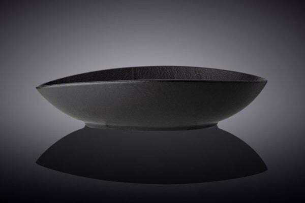 Блюдо Wilmax Slatestone Black 30х19,5х7 см