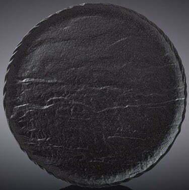 Тарелка Wilmax Slatestone Black 18 см WL-661123 / A купить недорого онлайн