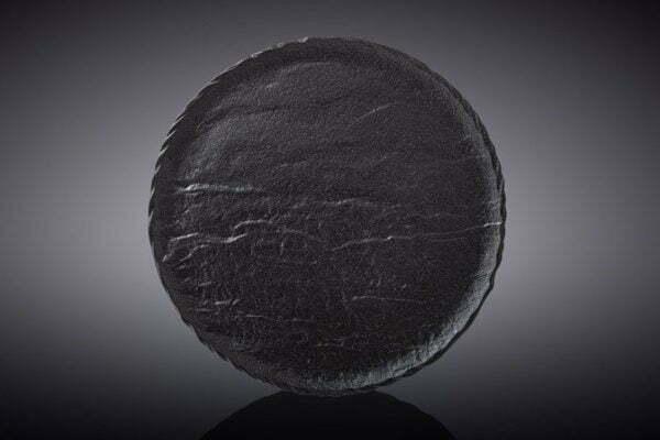 Тарелка Wilmax Slatestone Black 18 см