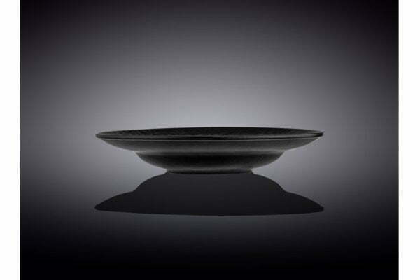 Тарелка глубокая Wilmax Slatestone Black 25,5 см
