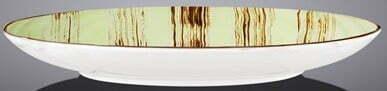 Тарелка десертная Wilmax Scratch Pistachio 18 см WL-668111 / A оперативная доставка