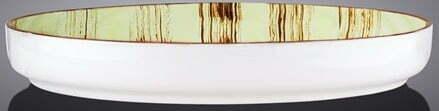 Тарелка обеденная Wilmax Scratch Pistachio 23 см WL-668119 / A купить в Одессе