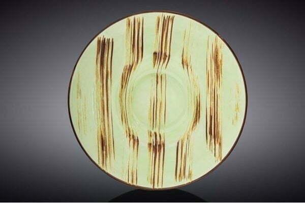 Тарелка Wilmax глубокая Scratch Pistachio 20 см купить в Украине