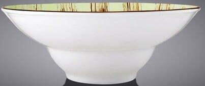 Тарелка глубокая Wilmax Scratch Pistachio 20 см WL-668122 / A доставка по Украине