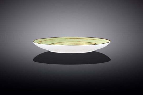 Тарелка десертная Wilmax Spiral Pistachio 18 см