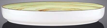Тарелка обеденная Wilmax Spiral Pistachio 23 см WL-669119 купить в Киеве