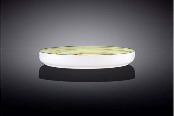 Тарелка обеденная Wilmax Spiral Pistachio 23 см