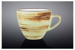 Чашка чайная Wilmax Spiral Pistachio 190 мл