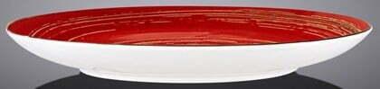Тарелка десертная Wilmax Spiral Red 20,5 см WL-669212 / A купить в Киеве